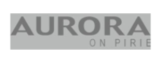 Aurora on Pirie logo